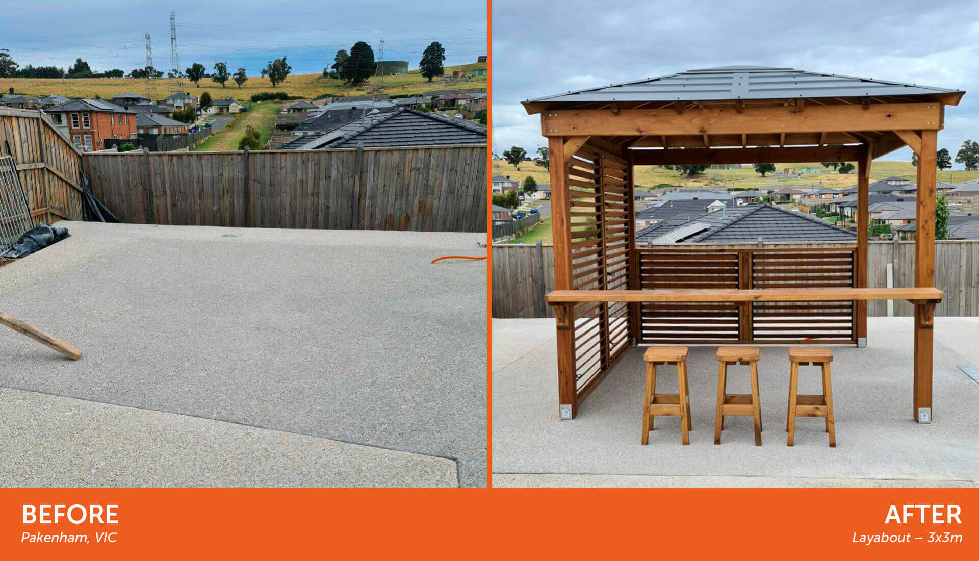 Outdoorable Before After